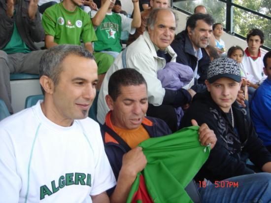 match ALGERIE  vs  EMIRATES ARABES