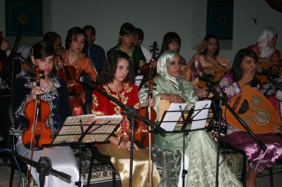Photos lors de la soirée organisée par association andalouse Slimania le 29/10/2010