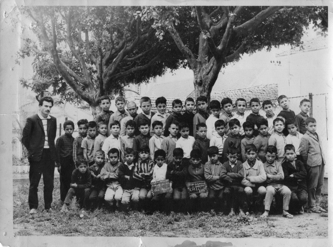 Ancienne photo de classe