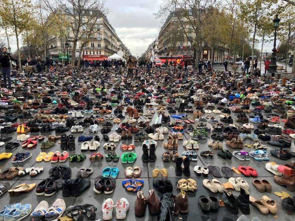 Chaussures place de la republique